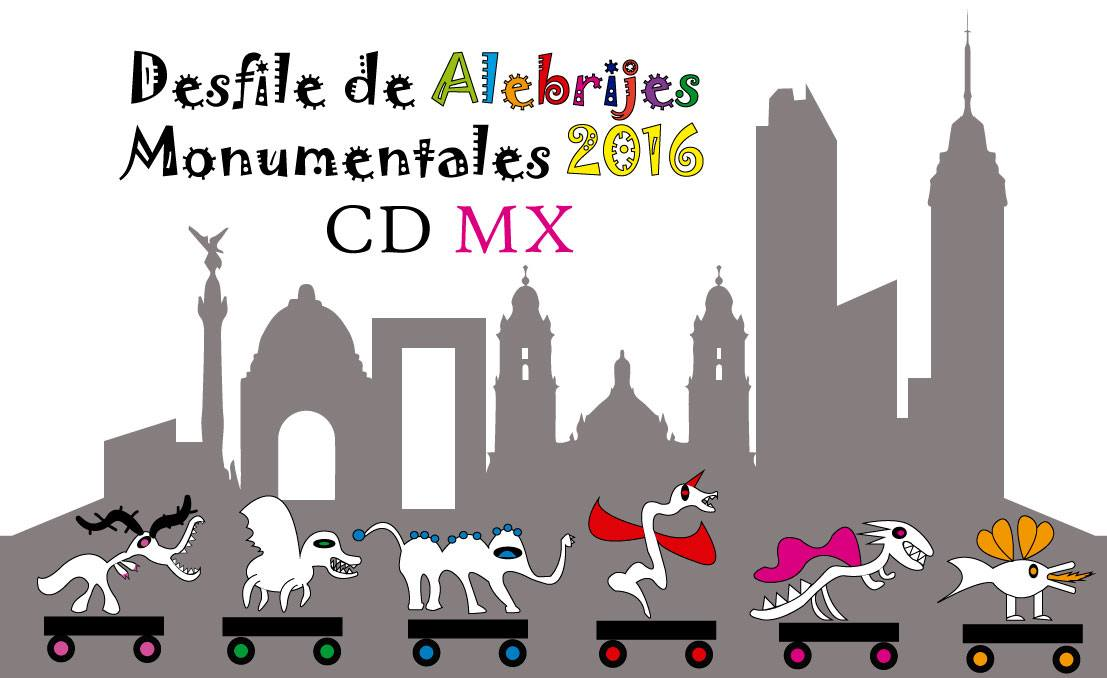 Desfile de alebrijes monumentales 2016