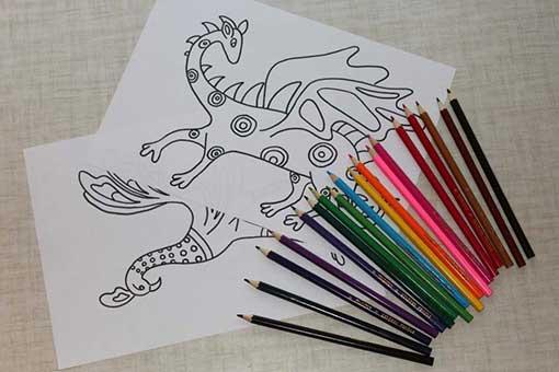 beneficios de colorear dibujos de alebrijes