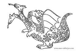 dragon-con-tres-cabezas