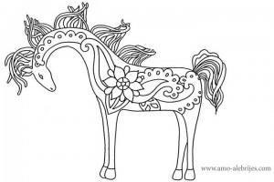 dibujos para dibujar caballo