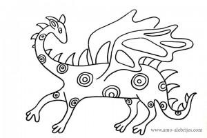 dibujos para dibujar dragon