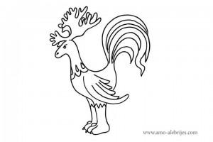 dibujos para dibujar gallo alce