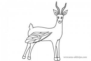 dibujos para dibujar gasela