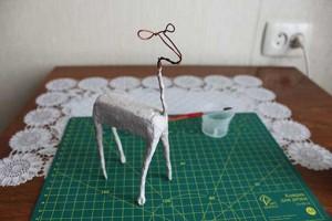 como elaborar un alebrije ciervo paso 9