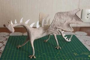 como hacer un alebrije dragon paso 12