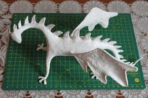 como hacer un alebrije dragon paso 14