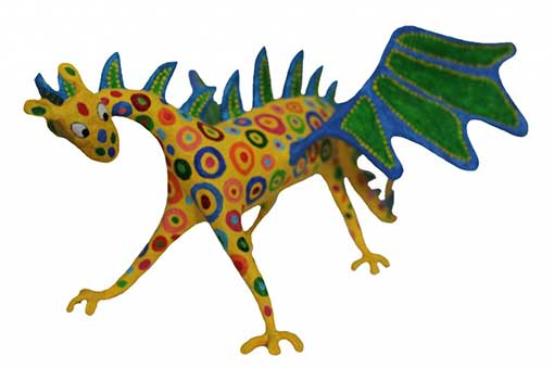 Tutorial alebrije dragon