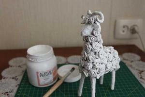como hacer alebrije oveja paso 20