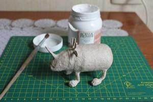 como hacer un alebrije de papel rinoceronte paso 10