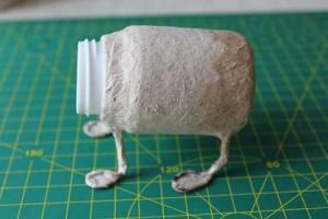 como hacer un alebrije de papel rinoceronte paso 3