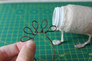 como hacer un alebrije de papel rinoceronte paso 4