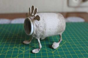 como hacer un alebrije de papel rinoceronte paso 6