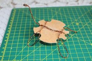 como hacer alebrije tortuga paso6