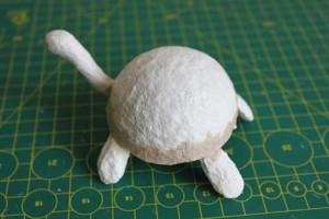 como hacer alebrije tortuga paso8