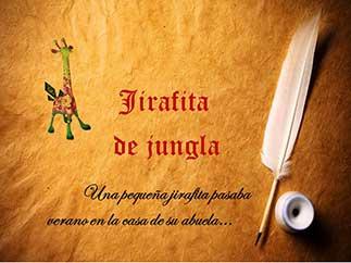 Cuento Jirafita de jungla