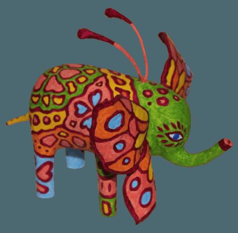 alebrijes inicio elefante