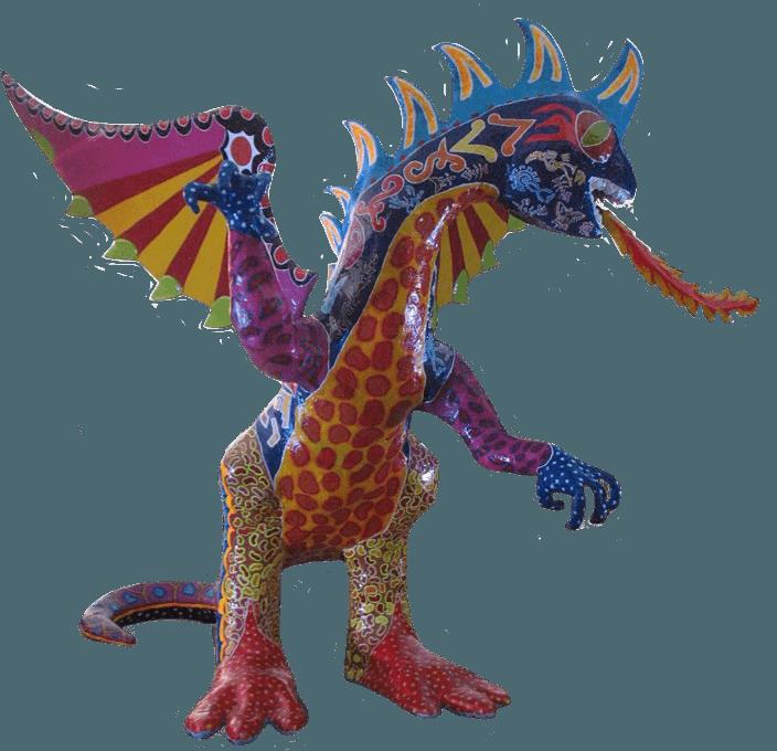 alebrijes inicio dragon