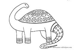 dibujos-para-colorear-apatosaurio