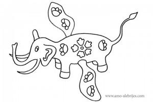 dibujos-para-colorear-mamut