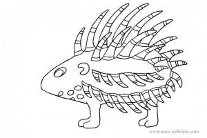 dibujos para dibujar puercoespin