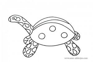 dibujos-para-colorear-tortuga-catarina