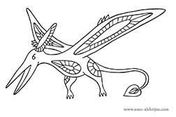 dibujos-para-colorear-pterodactylus