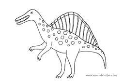 dibujos-para-colorear-spinosaurus
