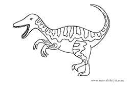 dibujos-para-colorear-utahraptor