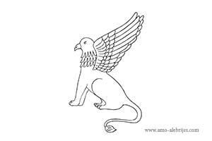 dibujos para dibujar águila leon