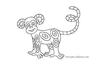 dibujos para dibujar mono