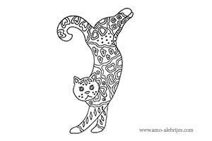 dibujos para dibujar gato de dos patas