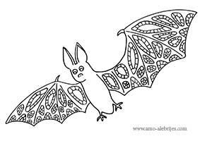 dibujos para dibujar murciélago