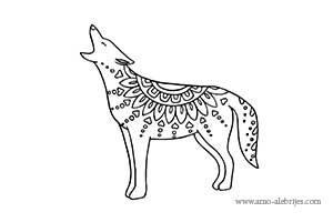 dibujos para dibujar coyote