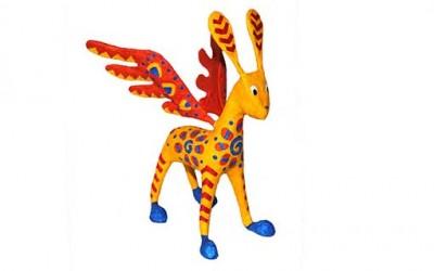 Tutorial burro con alas