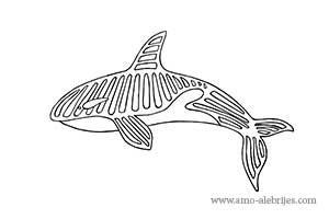 dibujos para dibujar alebrije ballena
