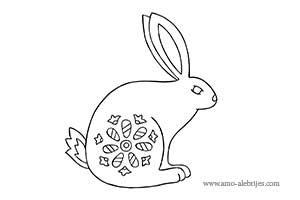 dibujos para dibujar conejo