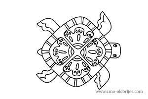 dibujos para dibujar alebrije tortuga