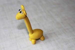como hacer un alebrije de plastilina jirafa caracol paso 6