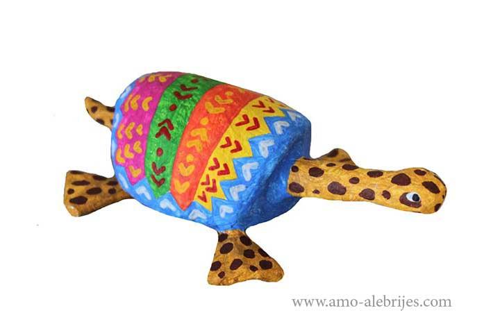 retratos de alebrijes tortuga jirafa