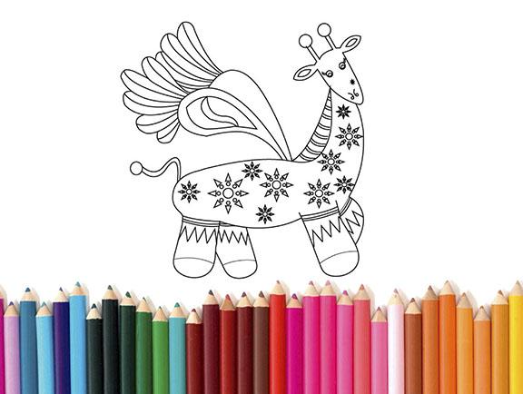 alebrijes dibujos para colorear