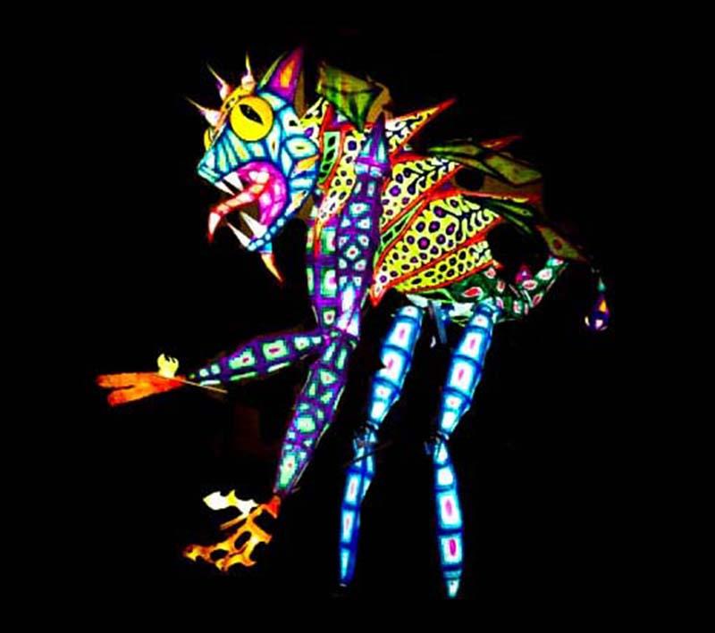 Alebrije iluminado raro 800x709