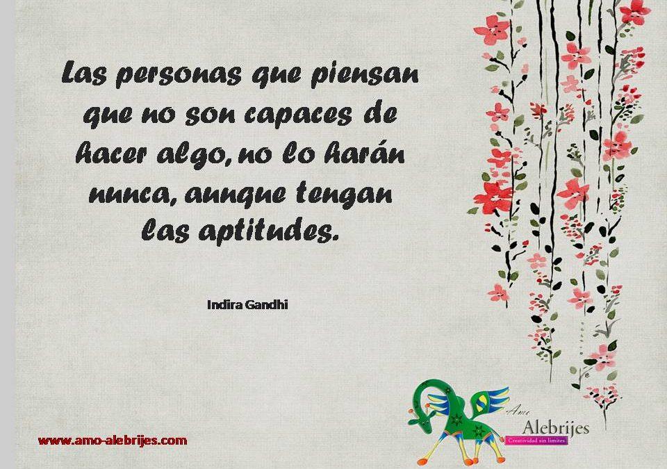 Frases celebres Indira Gandhi 1
