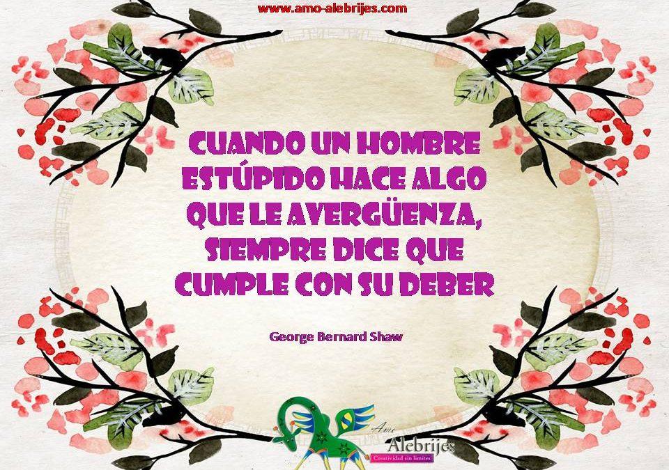 Frases celebres George Bernard Shaw 3