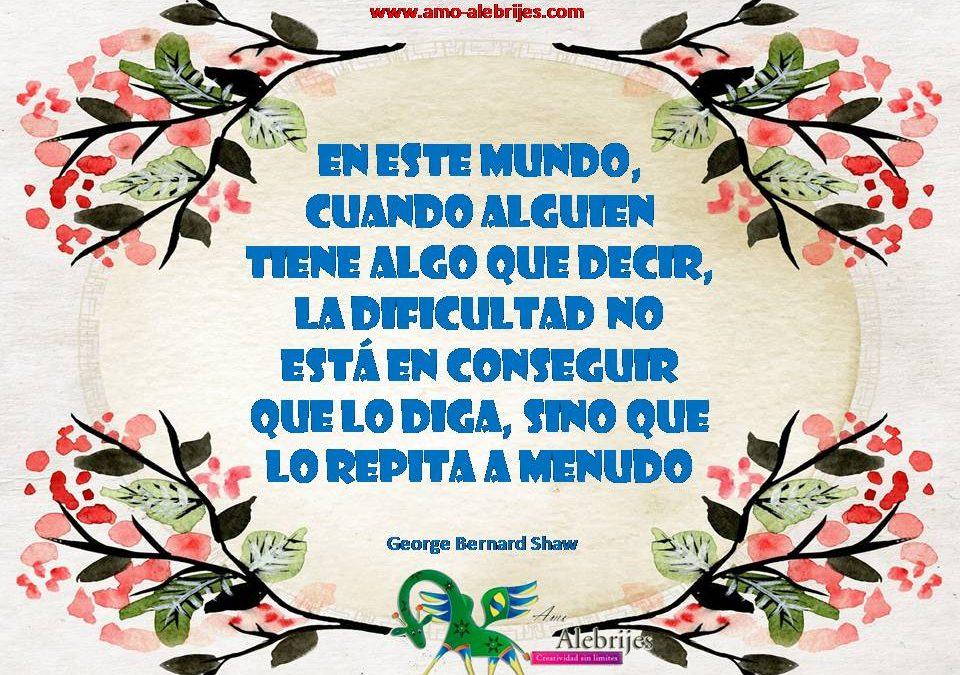 Frases celebres George Bernard Shaw 10