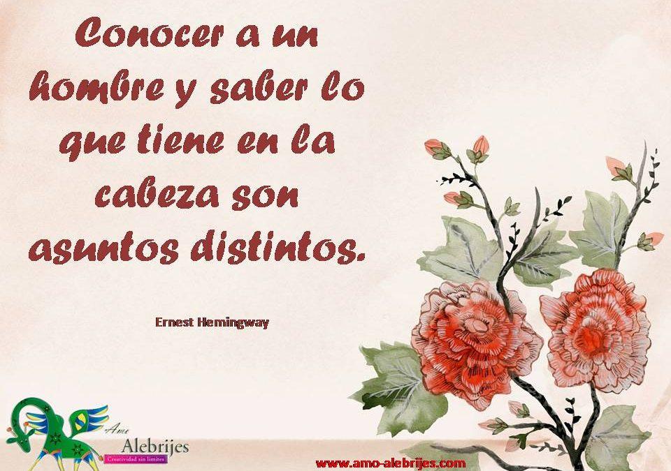 Frases celebres Ernest Hemingway 1