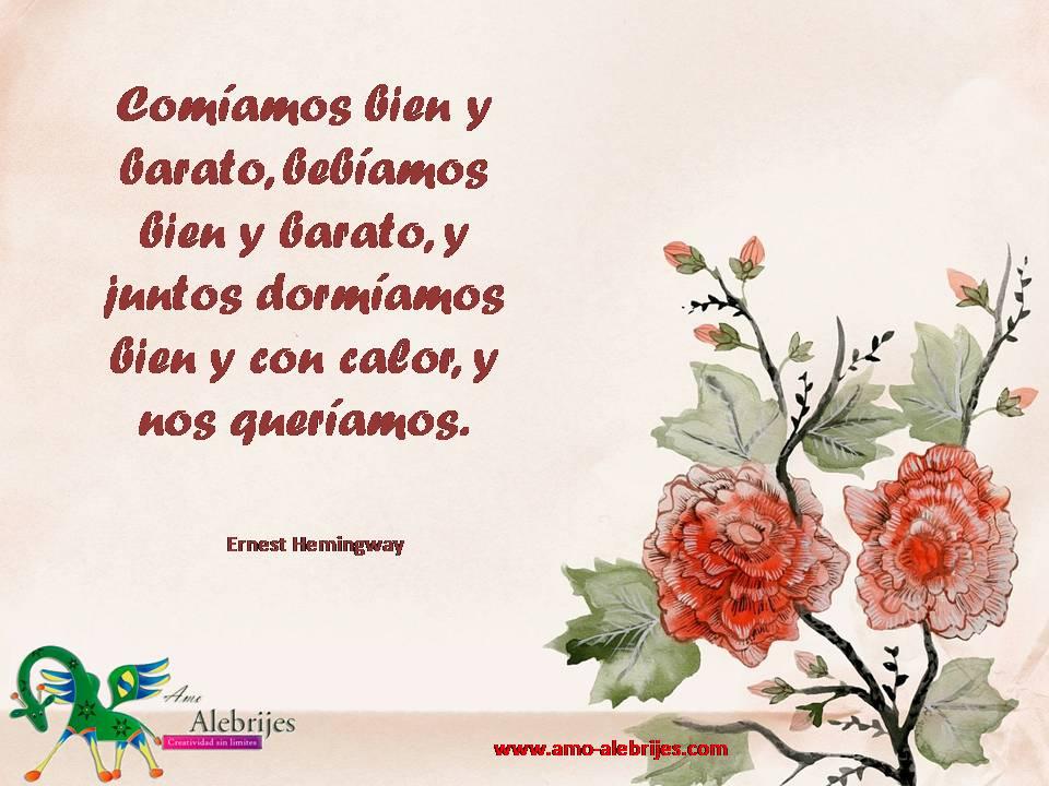 Frases celebres Ernest Hemingway 11