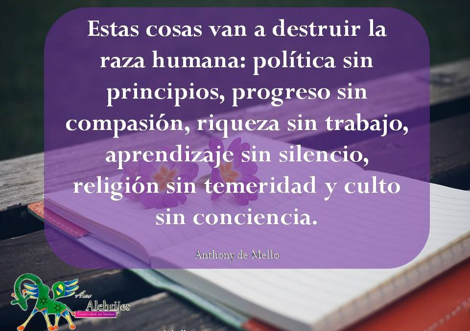 Frases celebres Anthony de Mello 4