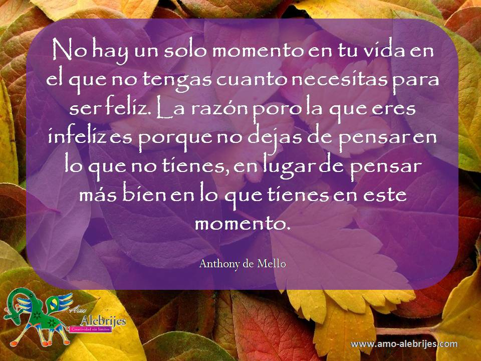 Frases celebres Anthony de Mello 15
