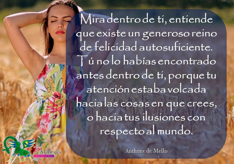 Frases celebres Anthony de Mello 23