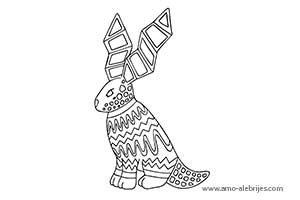 dibujos para dibujar liebre